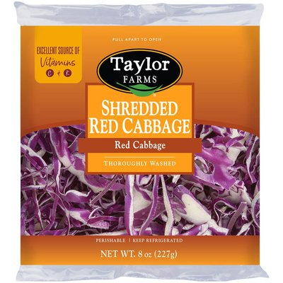 Taylor Farms Shredded Red Cabbage