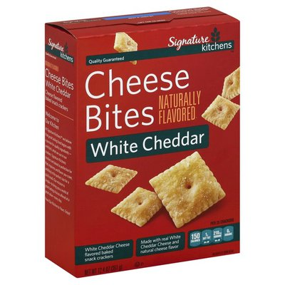 Signature Select Cheese Bites, White Cheddar