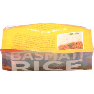 Lotus Foods Basmati Rice, Organic White