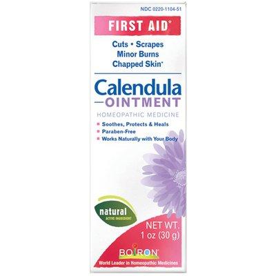 Boiron Calendula Ointment, Homeopathic First Aid Ointment for Cuts, Scrapes, Minor Burns, and Chapped Skin