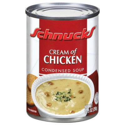Schnucks Condensed Cream of Chicken Soup