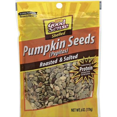 GoodSense Roasted Pepitas Pumpkin Seeds