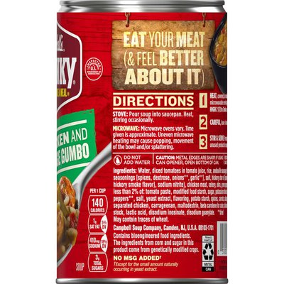 Campbell's® Chunky® Healthy Request® Chicken & Sausage Gumbo