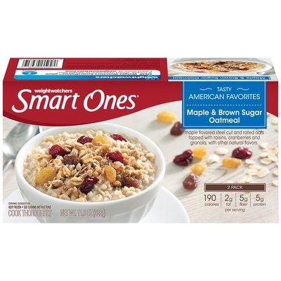 Weight Watchers Maple & Brown Sugar Oatmeal