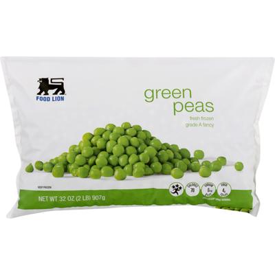 Food Lion Green Peas, Bag