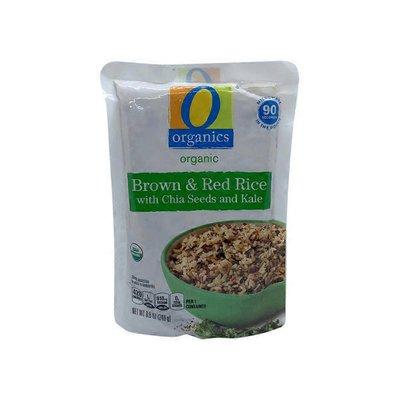 O Organics Brown & Red Rice, Organic, with Chia Seeds and Kale