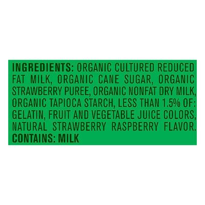 Gerber Organic Freeze-Dried Yogurt & Fruit Snacks, Red Berries