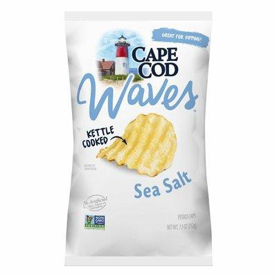 Cape Cod® Sea Salt Waves Kettle Cooked Potato Chips