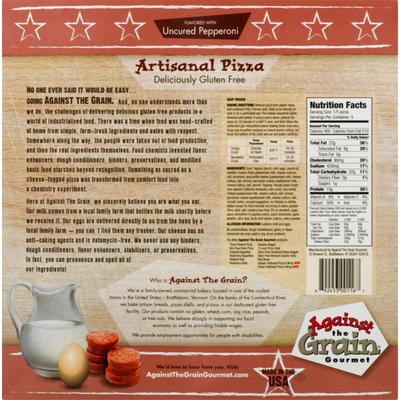 Against The Grain Gourmet Gourmet Pizza Uncured Pepperoni