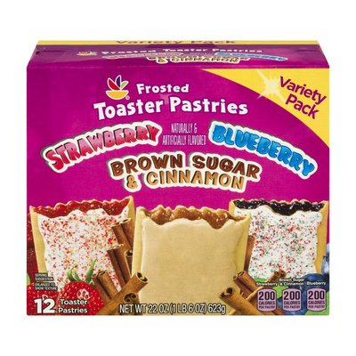 SB Ahold Frosted Toaster Pastries Variety Pack - 12 CT