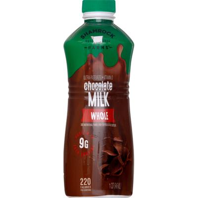 Shamrock Farms Milk, Whole, Chocolate