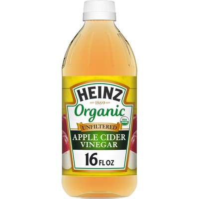 Heinz Organic Unfiltered Apple Cider Vinegar with the Mother