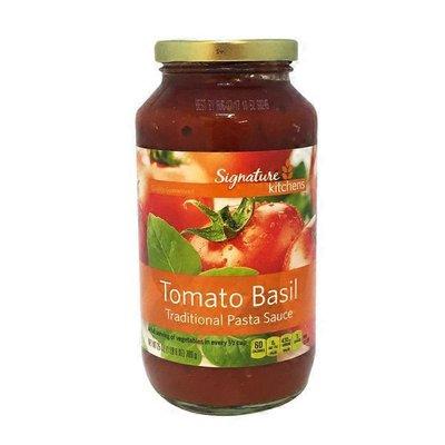 Signature Kitchens Tomato Basil Traditional Pasta Sauce