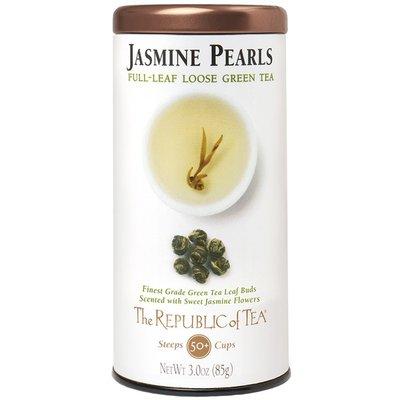 The Republic of Tea Jasmine Pearls Loose Leaf Green Tea