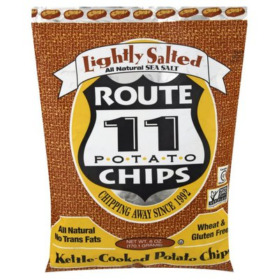 Route 11 Potato Chips, Kettle-Cooked, Lightly Salted