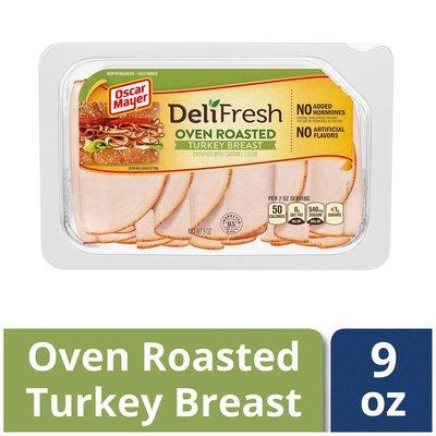 Oscar Mayer Shaved Oven Roasted Turkey 9oz