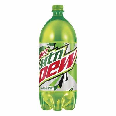 Mtn Dew Diet  Soda