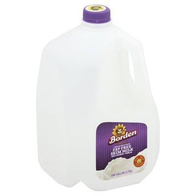 Borden Milk, Skim, Fat Free