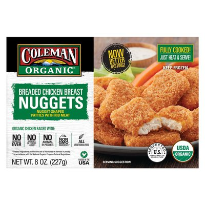 Coleman Breaded Chicken Breast Nuggets