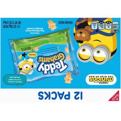 RITZ Grahams Honey Graham Snacks - Snack Pack