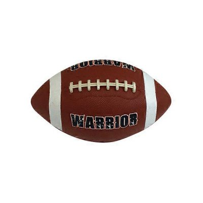 Deflated Rubber Football