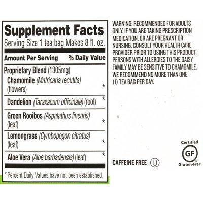 Celestial Seasonings Sleepytime Detox Caffeine Free Herbal Supplement Tea Bags