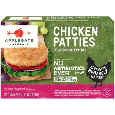 Applegate Organic Chicken Patties 4 Ct
