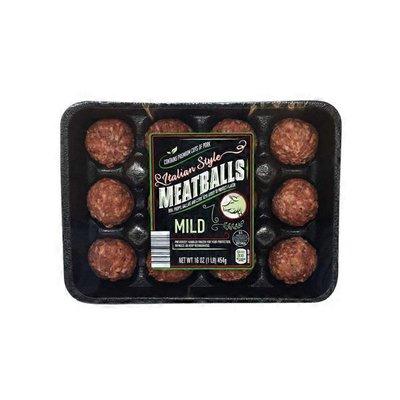Mild Italian Style Meatballs