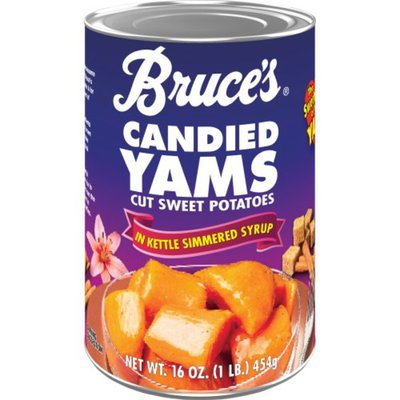 Bruce's Yams Candied Sweet Potatoes in Kettle Simmered Syrup