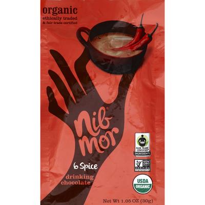Nib Mor Organic Drinking Chocolate 6 Spice