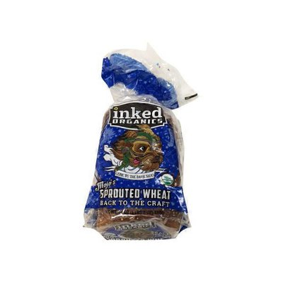 Inked Organics Organic Mojo's Sprouted Wheat Bread