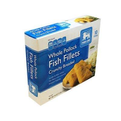 Food Lion Crunchy Breaded Fish Fillets