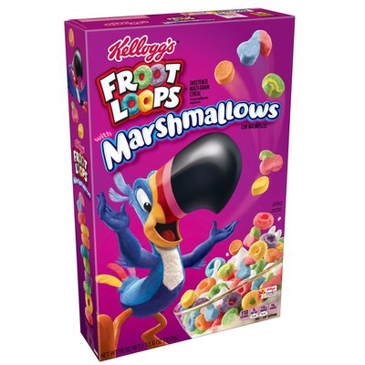 Kellogg's Froot Loops Breakfast Cereal Original with Marshmallows