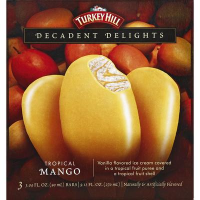 Turkey Hill Ice Cream Bar, Tropical Mango