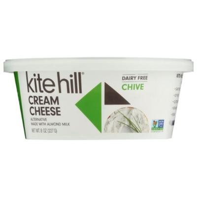 Kite Hill Cream Cheese, Dairy Free, Chive
