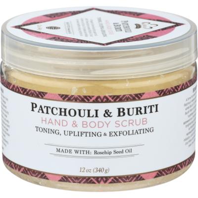 Nubian Heritage Patchouli Buriti Scrb Toning/uplifting/exf