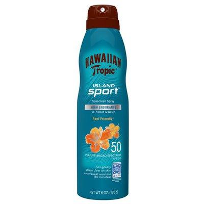Hawaiian Tropic Island Sport Broad Spectrum Sunscreen Spray