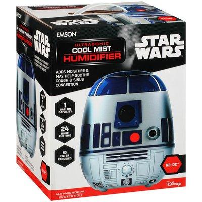 Disney Star Wars R2 D2 Ultrasonic Cool Mist Humidifier