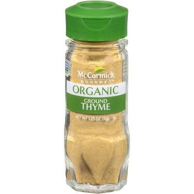 McCormick Gourmet™  Organic Ground Thyme