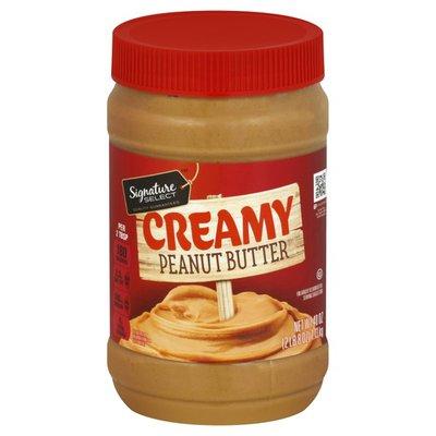 Signature Select Creamy Peanut Butter