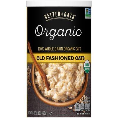 Better Oats Organic Old Fashioned Oats