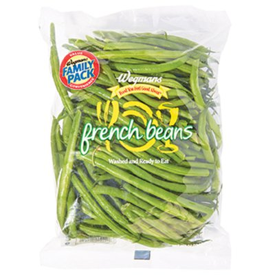 Wegmans Food You Feel Good About Cleaned and Cut French Green Beans