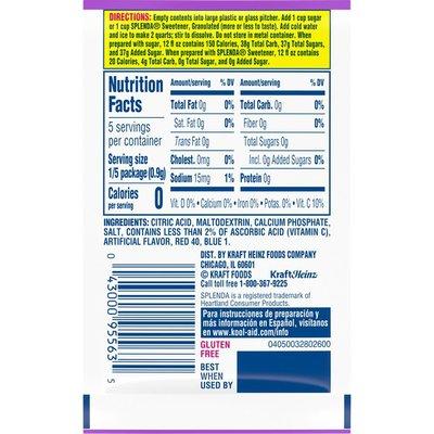 Kool-Aid Grape Unsweetened Drink Mix