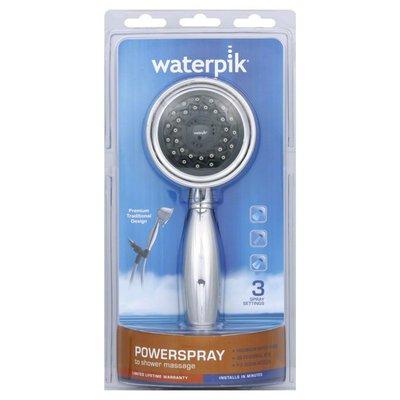 Waterpik Showerhead, Powerspray to Shower Massage