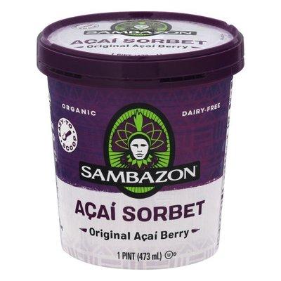 Sambazon Sorbet, Original Acai Berry