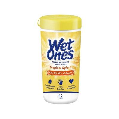 Wet Ones Wet Ones Antibacterial Hand Wipes Tropical Splash Canister