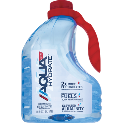 Aquahydrate Purified Water, with Electrolytes