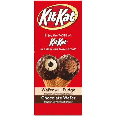 Kit Kat KITKAT Frozen Dairy Dessert Cone Variety Pack