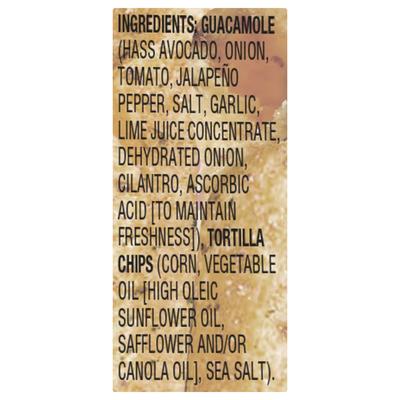 Sabra Snackers Classic Guacamole