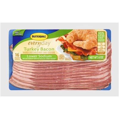 Butterball Thin & Crispy Low Sodium Turkey Bacon